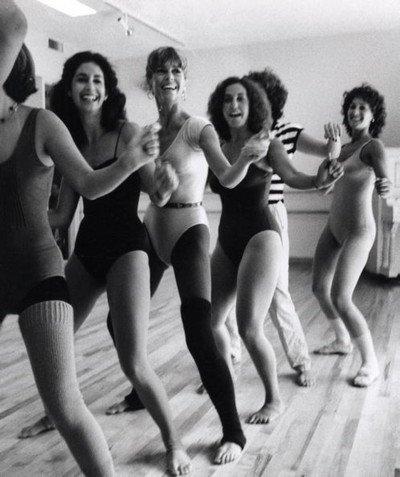 Автором фитнес-аэробики стала известная американская актриса Джейн Фонда