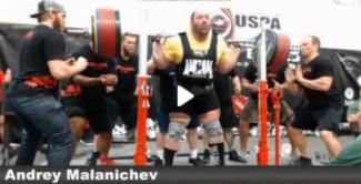 Андрей Маланичев присед 470 кг