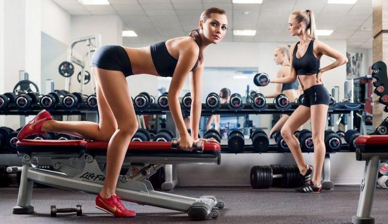 тренажерный зал или фитнес