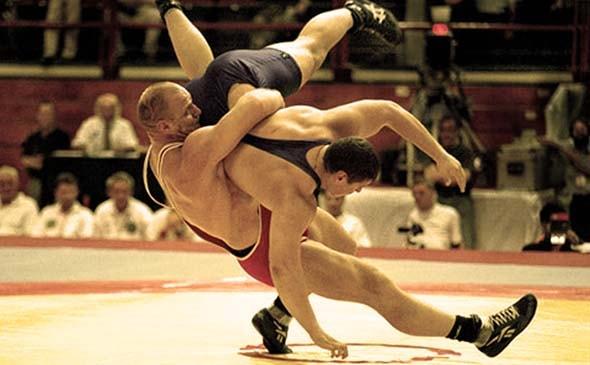 Особенности силовой тренировки борцов