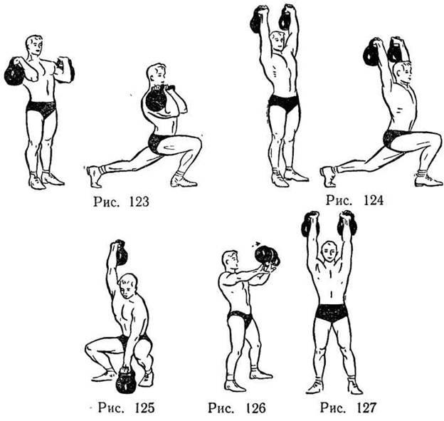 упражнение с гирей комплекс 5