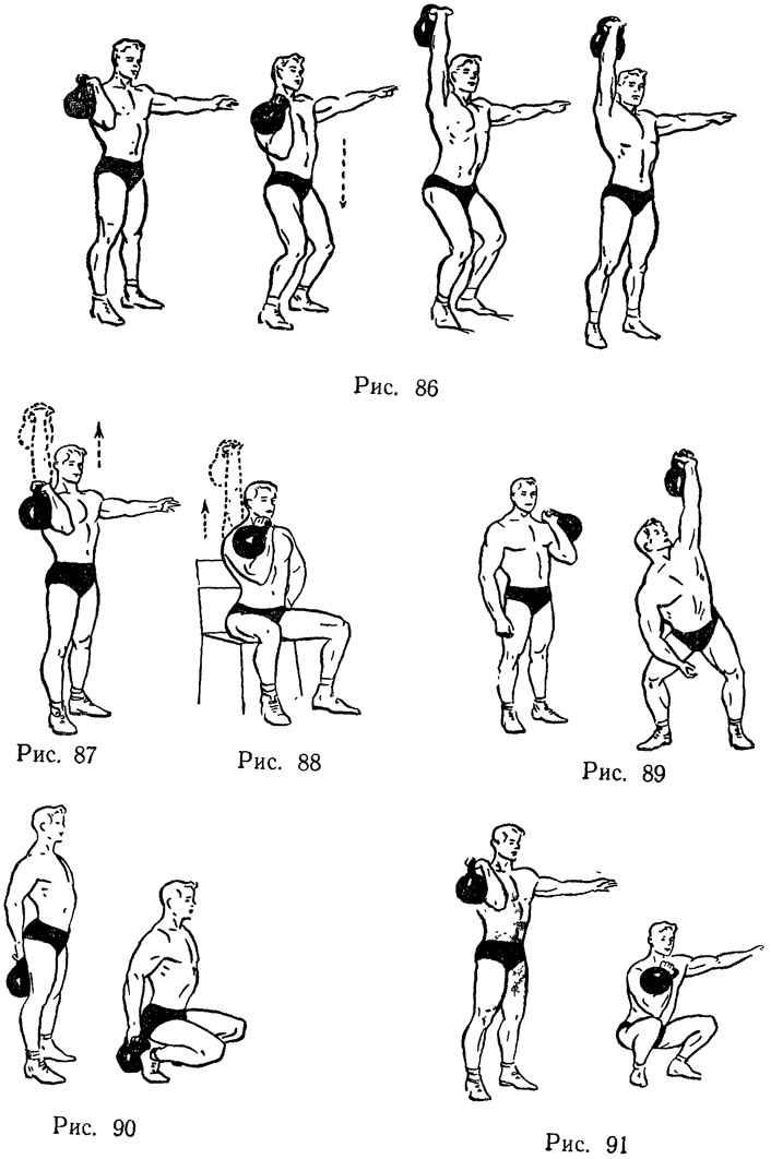 Комплекс упражнений с двумя гантелями для